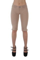Basic Bermuda Premium Stretch Moleton With gentle push up stitching - 10 Colors! - IF-1122