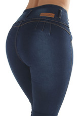 Plus Size, Butt Lifting, Levanta Cola, High Waist, Skinny Jeans - K747P