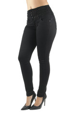 Plus Size Butt Lift, Levanta Cola, High Waist, Stretch Skinny Jeans - 7F130MS