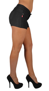 Basic Booty Shorts Premium Stretch French Terry With gentle butt lift stitching - IF-267