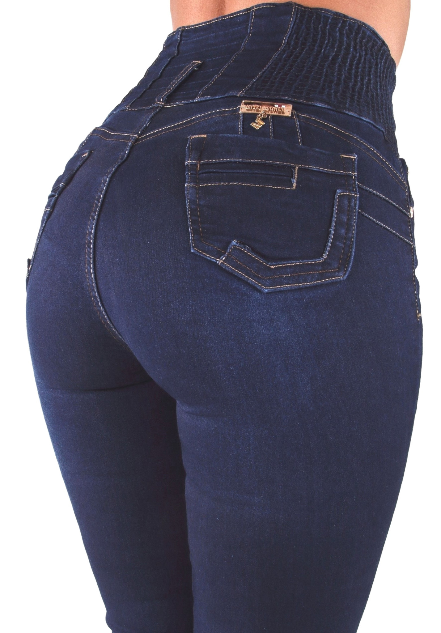 Plus//Junior Size Colombian Design Butt Lift Levanta Cola Skinny Jeans