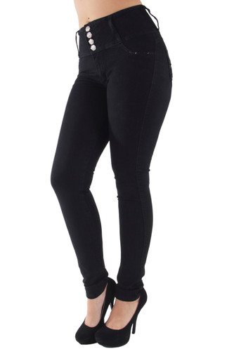 Butt Lift, Levanta Cola, High Waist, Skinny Jeans - 7A182S