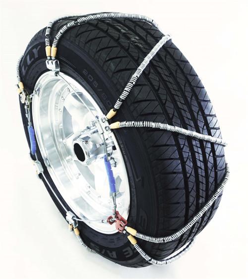 TireChain.com P225//50R17 P225//50 17 TUV Diamond Tire Chains Set of 2