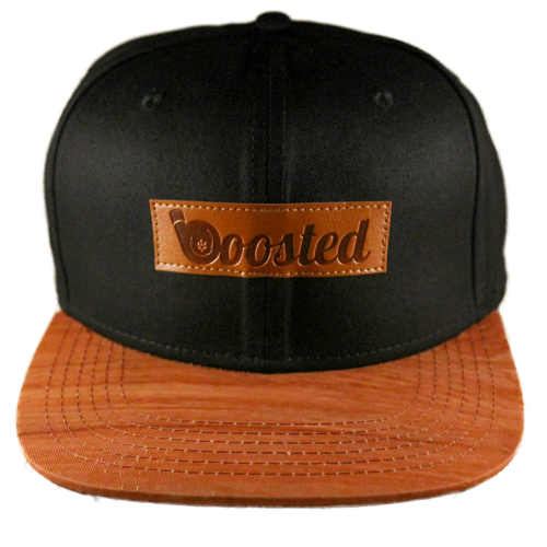 Boosted Snapback Hat (Black)