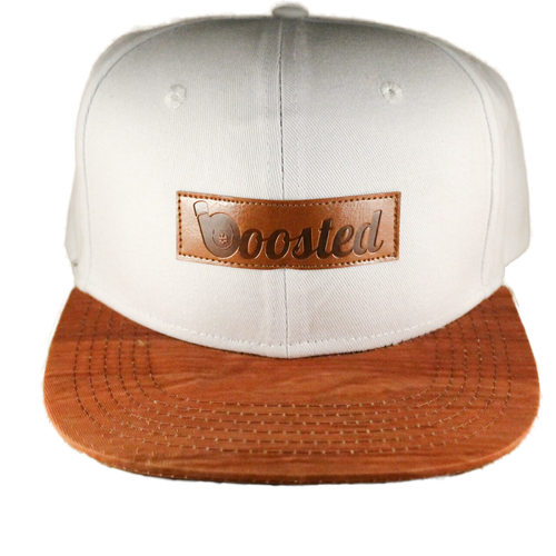 Boosted Snapback Hat (White)