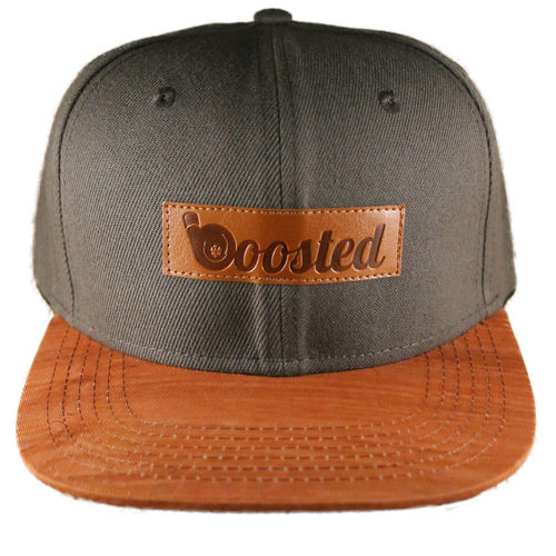 Boosted Snapback Hat (Gray)