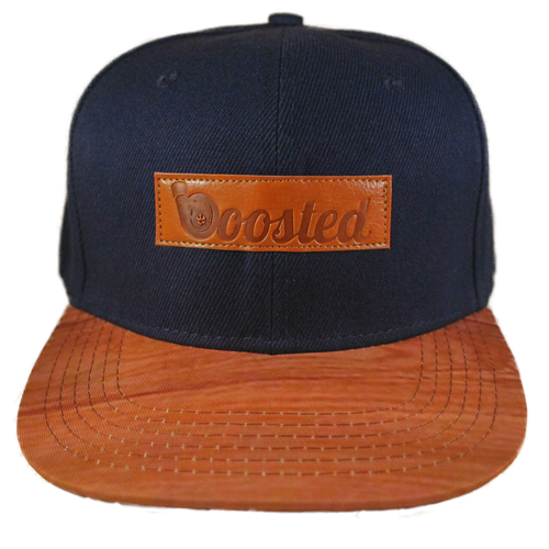 Boosted Snapback Hat (Navy Blue)