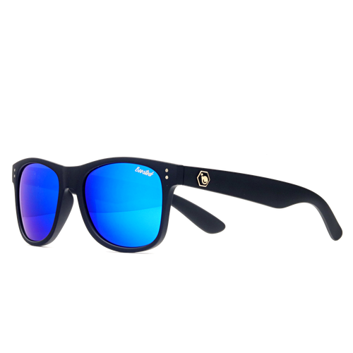 Classic Black X Polarized Royal Blue
