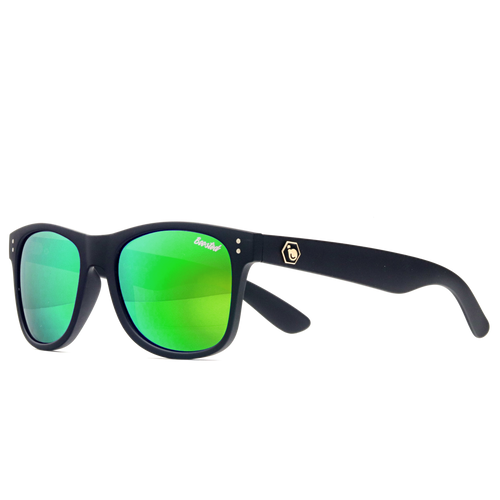 Classic Black X Polarized Lime Green