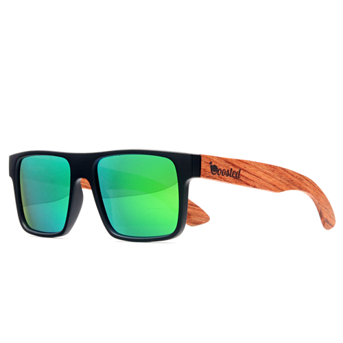 Boosted GT/ Premium Hardwood/ Polarized Green