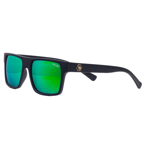 GT Black X Polarized Lime Green