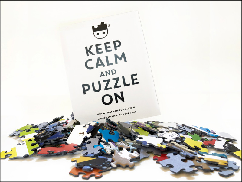 Keep calm and puzzle on!