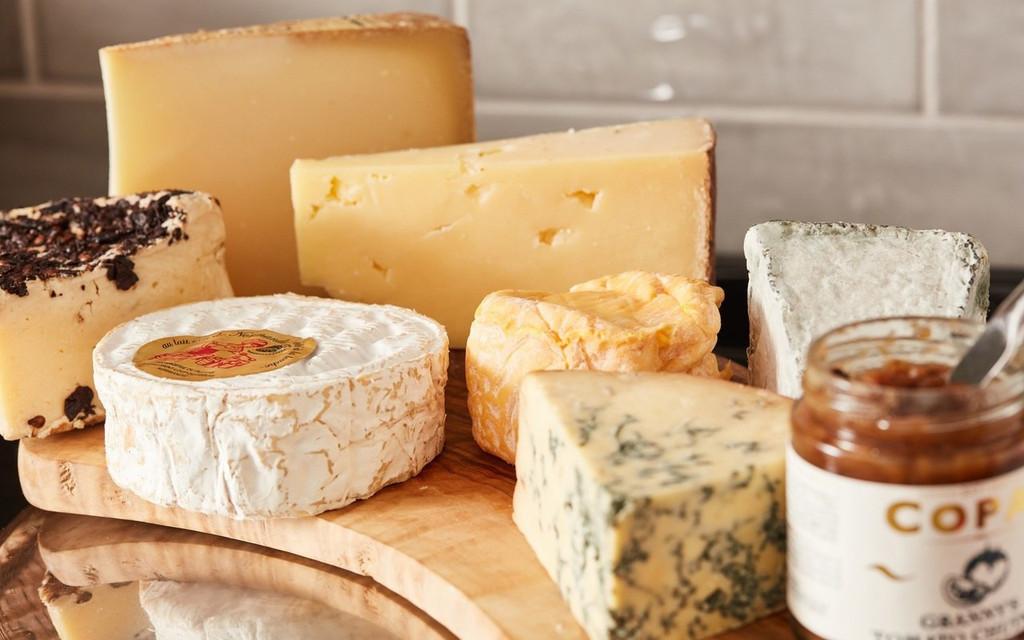 7 Cheese Board