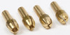 4Pc Replacement Brass Collet Set for Rotary Tools