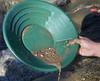 "12"" Deep Riffle Gold Pan Green"