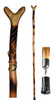 Rifle Wood Holder Hiking Stick