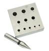 11 Hole Round Bezel Punch Block Set