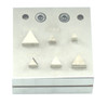 Jewelry Disc Cutter Triangle Shape 6 Piece