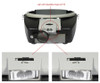 Head Magnifier 3 Lens With Led Light 1.5X-10.X Range