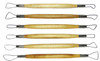 6pc Double Ended Design Clay Wax & Art Sculpting Set: Sizes: 1, 2, 3, 4, 5 & 6