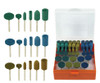 "Cratex ""type"" Rubberized Abrasives Rotary Bit Set 50PC"