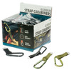 """72PC Aluminum Carabiner With Strap 3 1/16"""""""