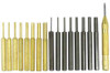 18PC Steel And Brass Punch Set