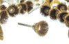 "Brass Wire Cup Brush 3/4"" Box Of 36"