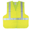 Class 2 Level 2, 5 Point Separation Safety Vest Lime Green