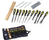 Deluxe Wood Carving Chisel Set 16PC