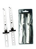 Stainless Steel Ruler Set 2PC With Clip