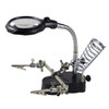 Illuminated Helping Hand Magnifier with Soldering Stand