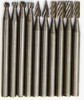 10 Piece High Speed Steel Rotary Burr Set 1/8""