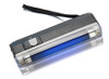 Portable UV Light 1UV Tube( UV Wavelength: 365nm) Portable Black Light with LED Flashlight, Black Plastic