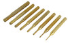 Gunsmithing 8PC Brass Pin Punch Set