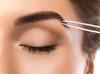 German Professional Flat Square Tip Tweezers Eye Brow