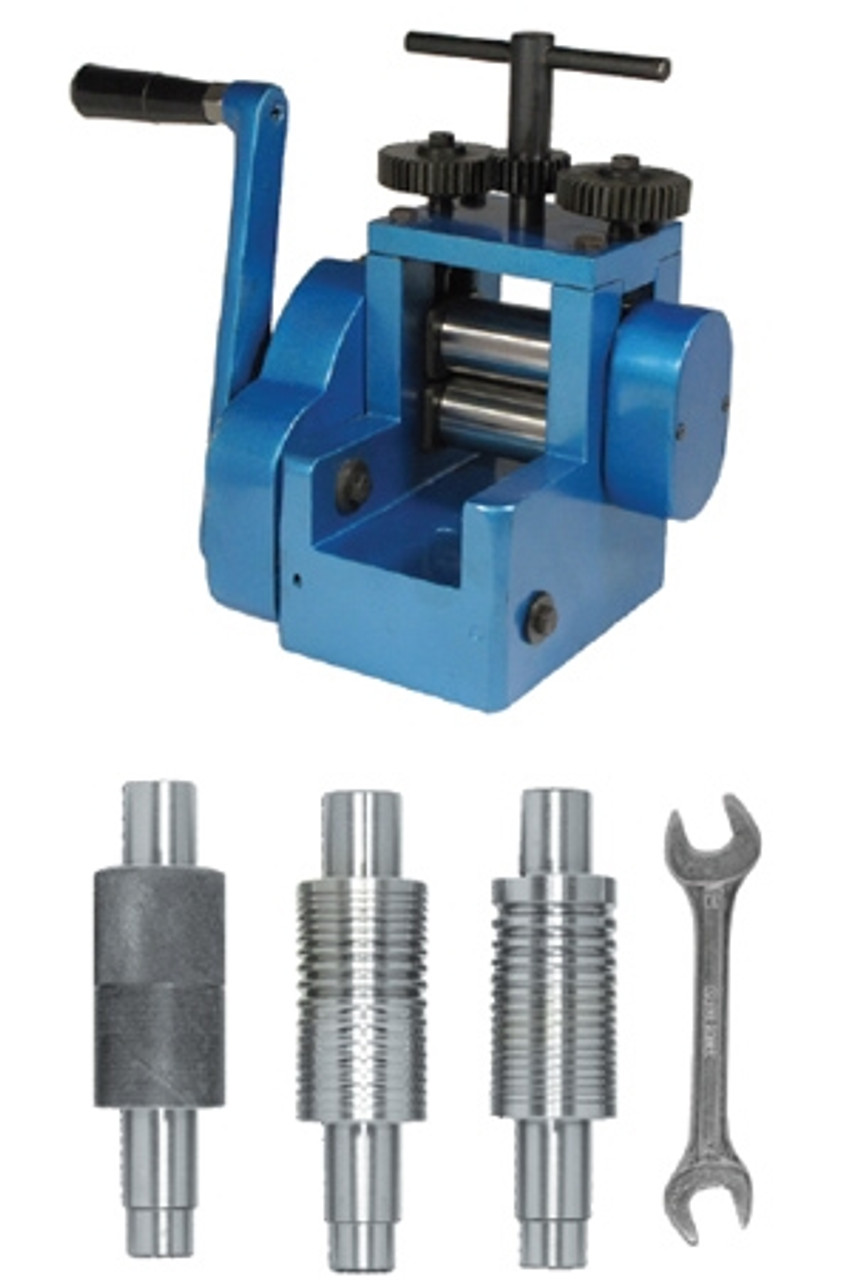 Metal Forming Rolling Mill Machine Zig Zag Pattern 4in 1For making jewelry Tool