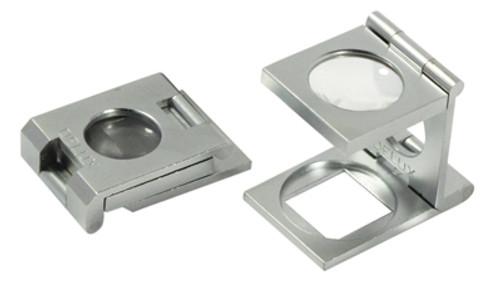 Small linen magnifier 10x 15mm Folding Magnifier