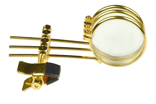 Triple 3.3X Loupe Gold Plated