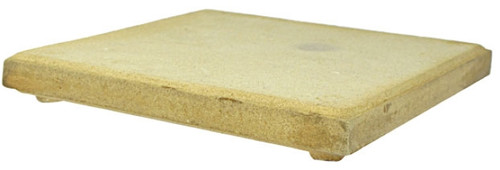 "12"" X 6"" Alumina Ceramic Soldering Plate w/ Base"