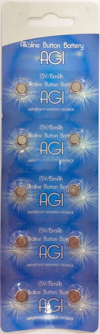 Button Cell Batteries 20PC LR621 AG1