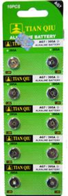 AG7 Button Cell Batteries 10PC