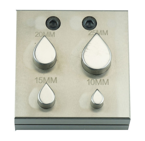 Jewelry Disc Cutter Tear Drop Shape