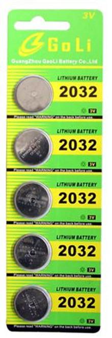 Utopia Tools 2032 Lithium Batteries Key Fobs 5 PACK