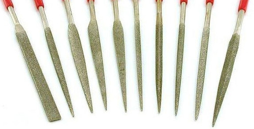 Diamond Needle File Set 10PC