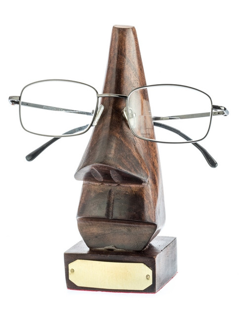 Eye Glass Wood Holder