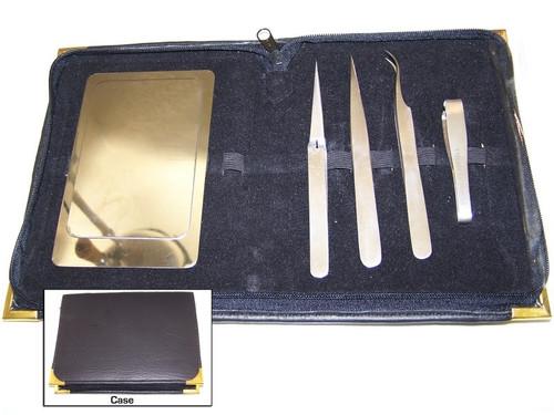 Eye Lash Extension Tweezer Tool Kit