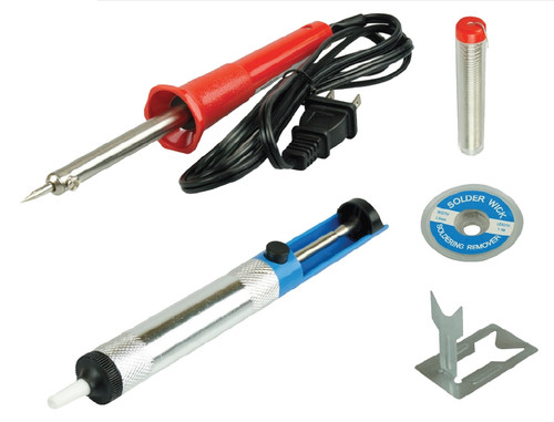 Soldering Iron Kit With Desoldering Pump