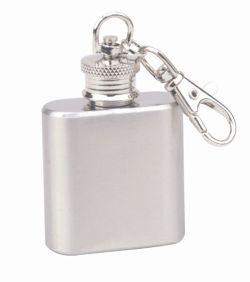 Micro 1oz Flask Key Chain