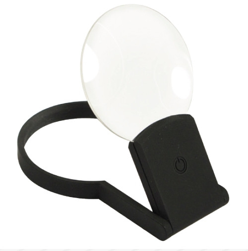 Led Lighted Folding / self Standing Magnifier